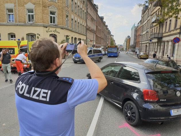Kollision auf dem Sonnenberg - eine Verletzte