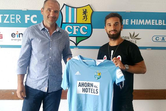 Fußball-Drittligist Chemnitzer FC hat am Mittwoch Offensivspieler Okan Aydin bis 2019 verpflichtet.