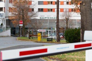 Das Helios Vogtland-Klinikum in Plauen.