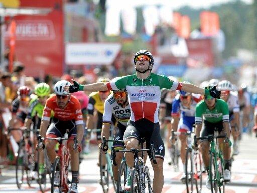 Elia Viviani gewinnt die zehnte Etappe der Vuelta