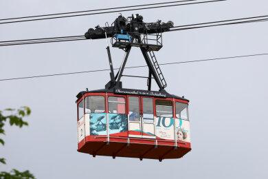 Die Fichtelberg-Schwebebahn steuert auf ihren 100. Geburtstag zu. Das neue Design macht darauf schon neugierig.