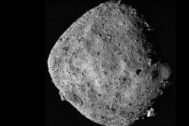 Der Asteroid Bennu.