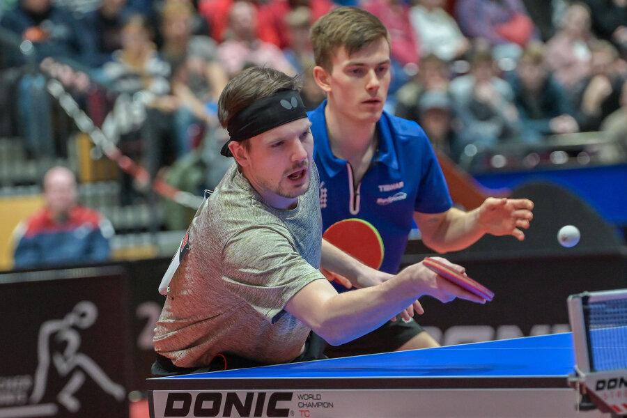 Ricardo Walther bei den 88. Nationalen Deutschen Meisterschaften im Tischtennis