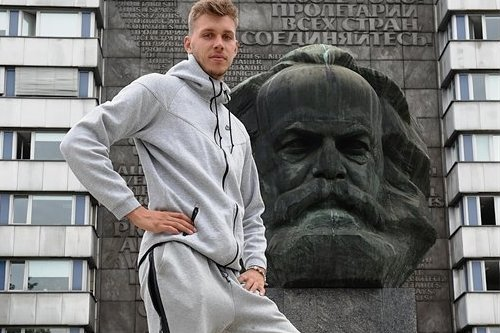 Niners-Spieler Niklas Wimberg weiter dabei
