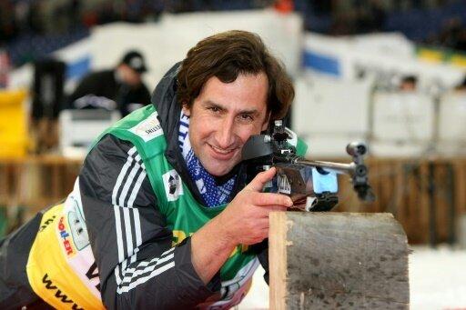 Christian Schenk 2008 beim Biathlon