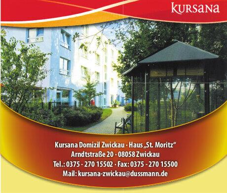 Anzeige: Kursana Care GmbH