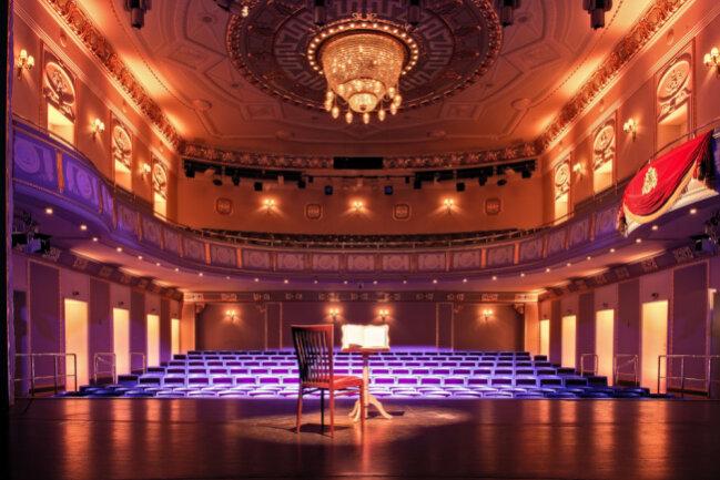 Beeindruckendes historisches Ambiente: der Innenraum des König Albert Theaters.