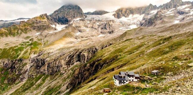 Die Plauener Hütte im Zillertal.