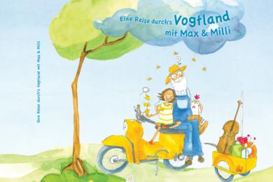 Die Titelseite des neuen Vogtland-Kinderbuches. Geht es nach den beiden Schöpfern, soll es ein Klassiker werden.