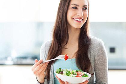 Basische Ernährung zur Gewichtsreduktion.