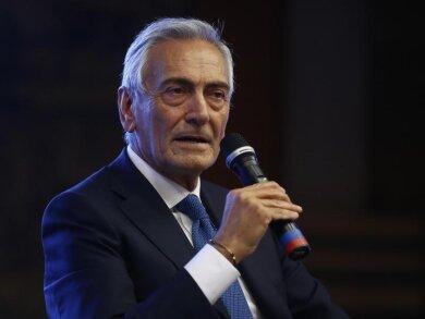 «Es gibt keine bessere Lösung als die Playoffs», sagte Gabriele Gravina, der Präsident des italienischen Fussballverbandes.