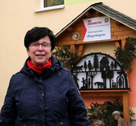 """Petra Wünsch war mehr als 40 Jahre in der Kita """"Regenbogen"""" tätig."""