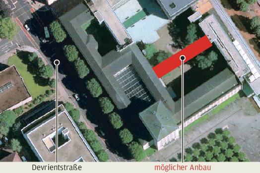 Landtag platzt aus allen Nähten - Anbau für Parlament im Gespräch