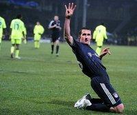 Treffsicher: Miroslav Klose in Lyon