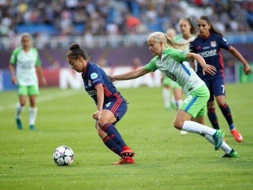 Wolfsburg trifft auf Titelverteidiger Olympique Lyon