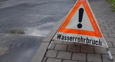 Gleich drei Wasserrohrschäden gibt es in Planitz (Symbolbild).