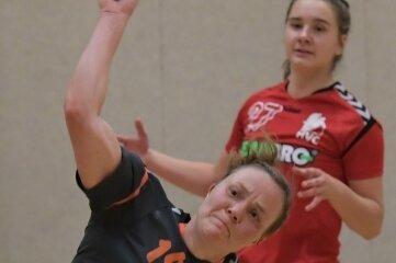 Laura Weißmann und ihre Teamkolleginnen mussten sich den Gästen geschlagen geben.