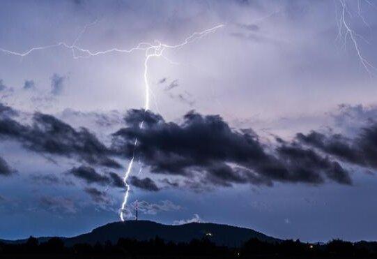 Unwetterwarnung in der Region