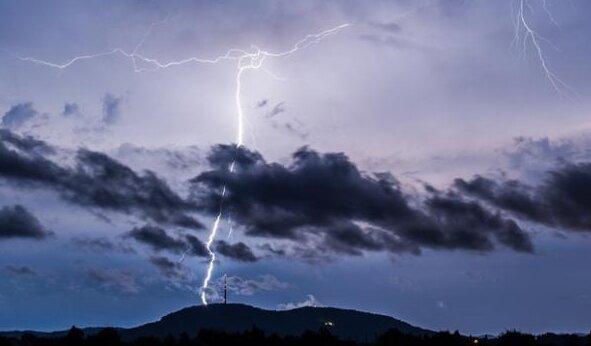 Wetterdienst warnt vor schweren Gewittern
