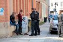 Großkontrolle der Polizei am Dienstag auf dem Chemnitzer Sonnenberg