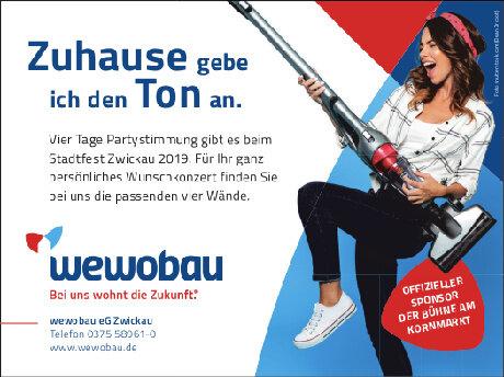 Anzeige: WEWO Bau Zwickau