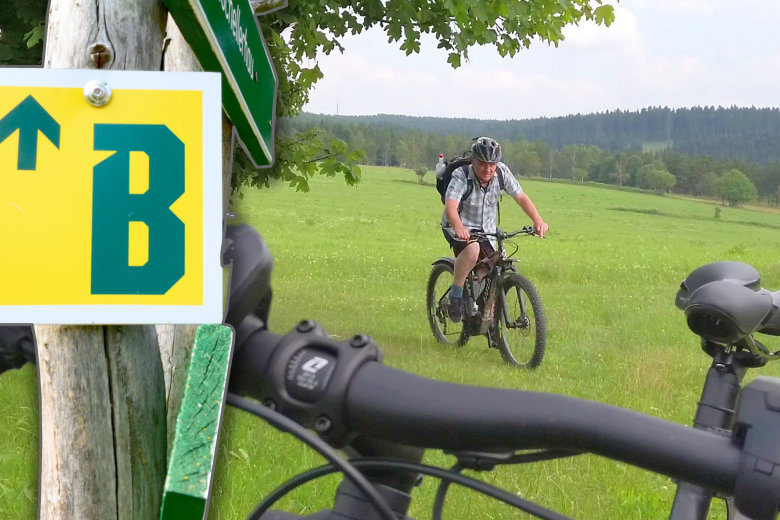 Großer Blockline-Test: So fährt sich die Mountainbike-Strecke im Ost-Erzgebirge