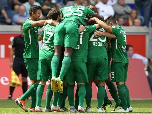 Der VfL Bochum feiert den ersten Saisonsieg