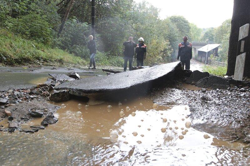 Schwere Gewitter, heftiger Regen: Land unter in Zwickau und Magwitz