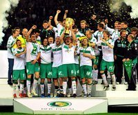 DFB-Pokalsieger 2008/09: Werder Bremen