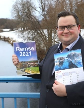 Karsten Schultz koordiniert das Kalender-Projekt.