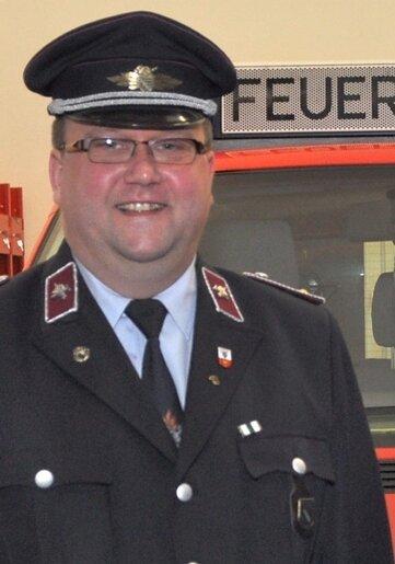 Mirko Neumann ist der neue Wehrleiter in Beerheide.