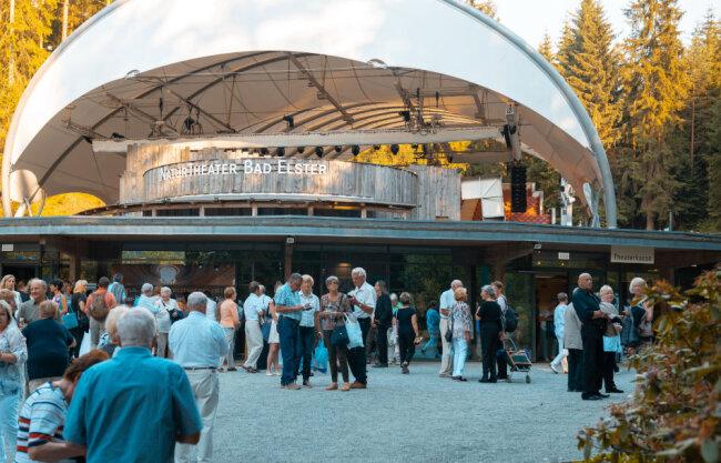 Das NaturTheater Bad Elster empfängt seine Gäste.