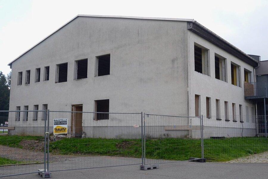 Mitte nächsten Jahres soll der Kindergarten in Werda fertig sein. Dann ziehen dort auch die Knirpse aus dem Ortsteil Kottengrün mit ein. In der erweiterten Kita ist dann Platz für 80 Jungen und Mädchen.