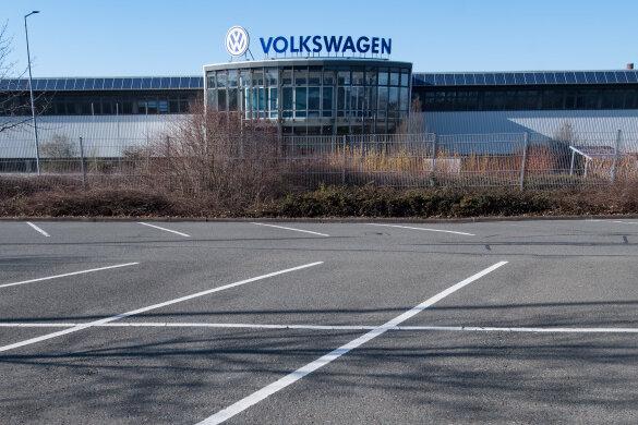 Warnstreik bei den Chemnitzer VW-Motorenwerkern