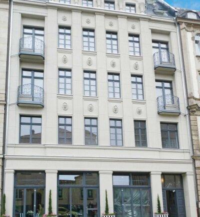 Wieder ein Hingucker: Die Fassade des Hauses Schumannstraße 6 in Zwickau.