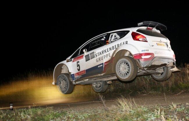 Der Crottendorfer Carsten Mohe nimmt am Lausitzring erstmals seit über einem Jahr wieder an einem Rallyelauf teil.