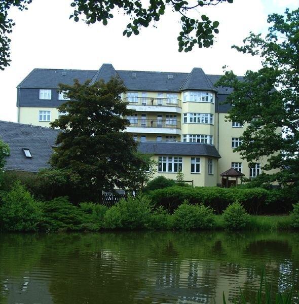 Das ehemalige Kurheim Haus am See in Bad Elster, zuletzt Mutter-Kind-Klinik, steht seit mehr als vier Jahren leer.