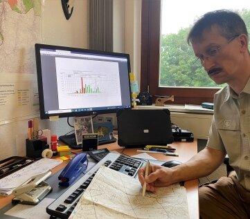 Laut Revierleiter André Berger ist die Käfergefahr weiter akut.