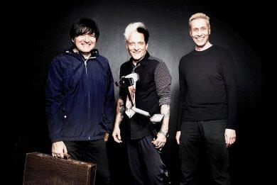 Rod, Bela und Farin (von links) sind Die Ärzte.