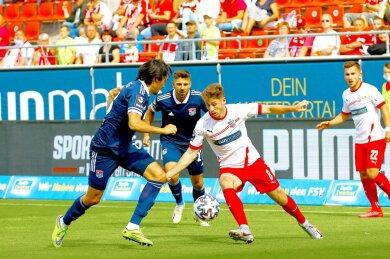 Das Spiel zwischen Drittligist FSV Zwickau ab 14 Uhr und derSpVgg Unterhaching istam Samstag mit 2:1 für Zwickau geendet.