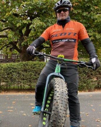 """""""Ich freue mich, dass so etwas ins Leben gerufen wird"""", sagt Radsportler Ronny Rehwald."""