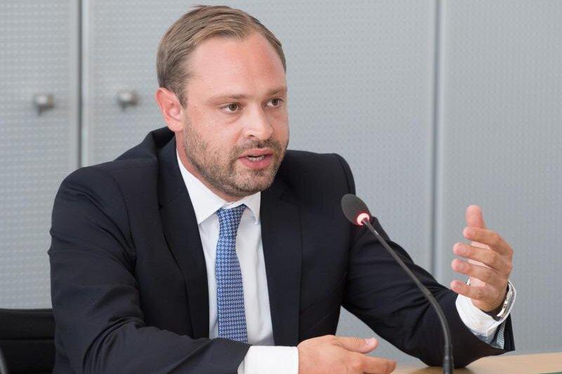 Alexander Dierks, CDU-Generalsekretär in Sachsen.