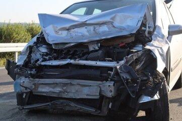 Eine junge Frau war am Montag gegen 7.30 Uhr auf der B 173 mit ihrem Auto von der Straße abgekommen.