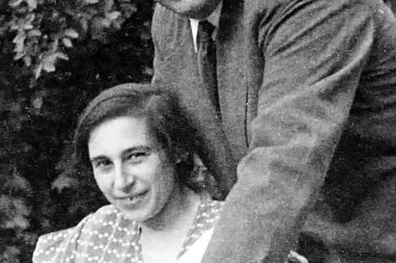 Ein glückliches Paar: Käthe und Al-fred Beutler 1935.