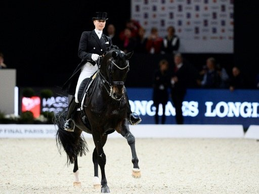 Jessica von Bredow-Werndl erreichte 76,677 Punkte