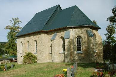 Die historische Wehrkirche.