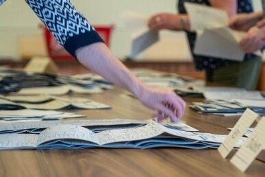 Im Juni 2022 müssen wieder Stimmen ausgezählt werden, wie kürzlich zur Bundestagswahl.