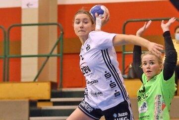 Lena Hausherr ist die bisher erfolgreichste Werferin des BSV Sachsen in dieser Saison.