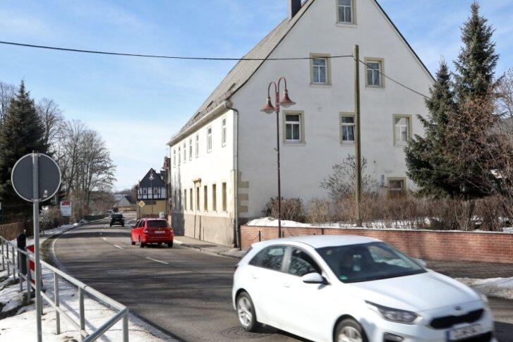 Die Hofer Straße in Oberlungwitz soll zwischen Mitte März und Dezember voll gesperrt werden.
