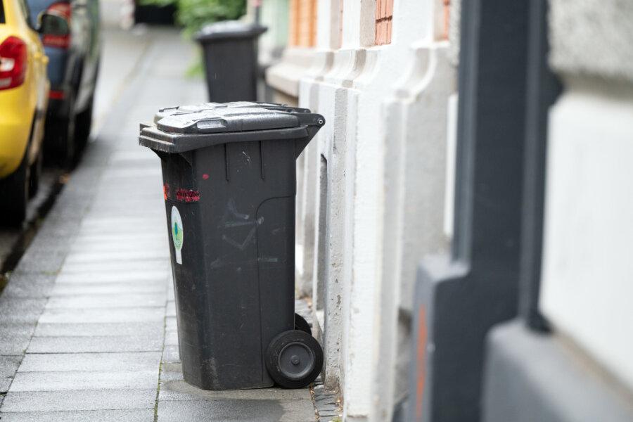 Müllgebühren in Chemnitz sollen steigen
